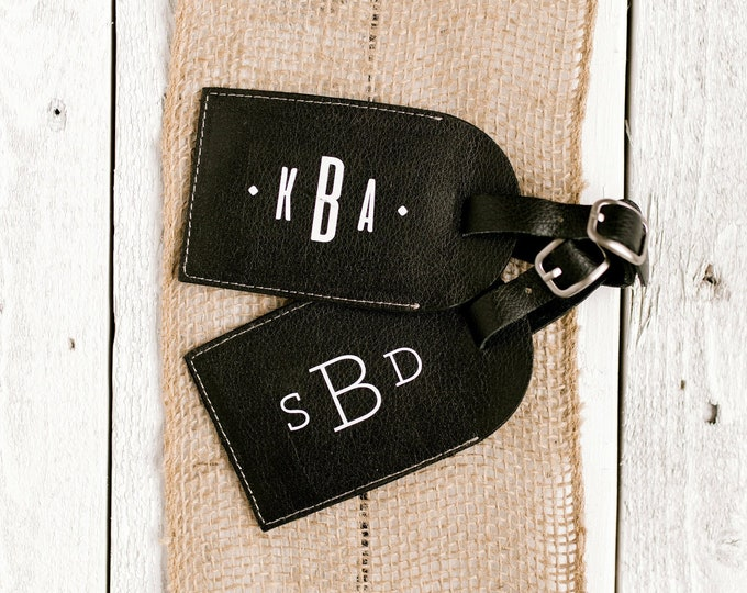 Personalized Luggage Tag - Monogram