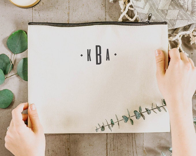 Personalized Clutch - Monogram