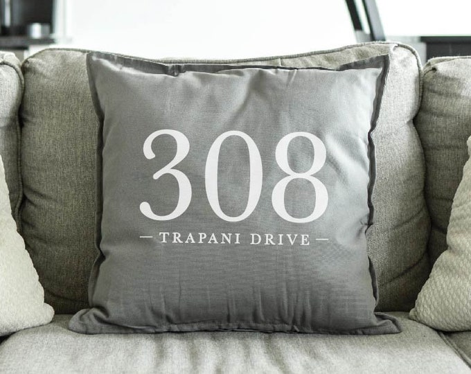 Address Pillow