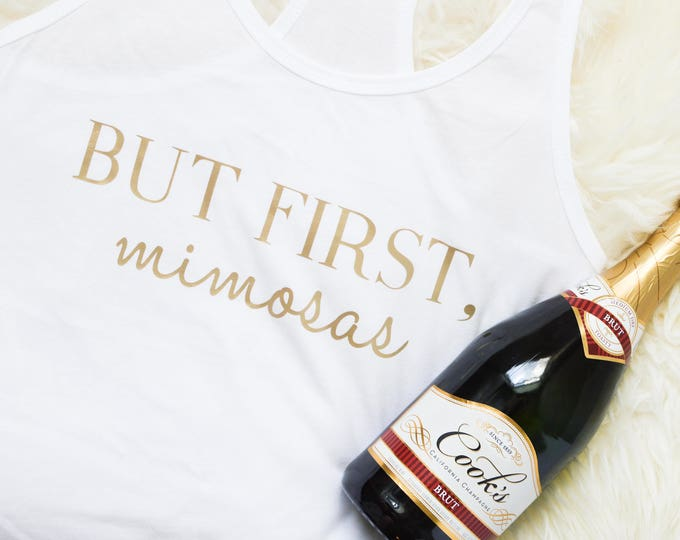 But First Mimosas Tank