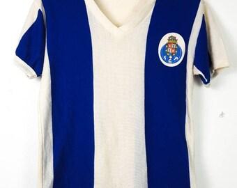 458e23d3e Vintage 70 s FC PORTO Football Soccer Camisa De Futebol Jersey Shirt
