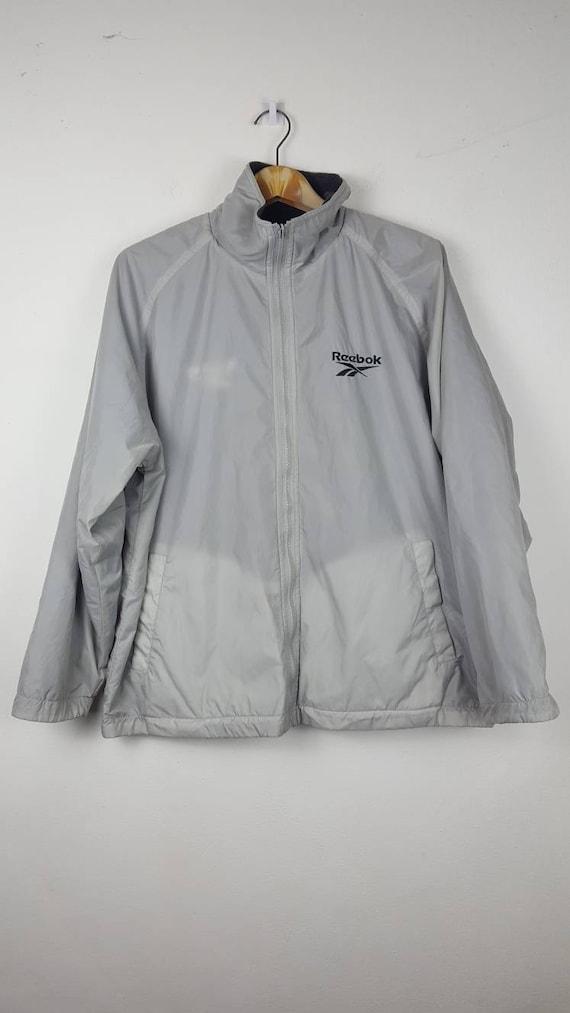 Details zu Womens Vintage Nike Black Reversible Windbreaker Fleece Jacket Large 16 R14149