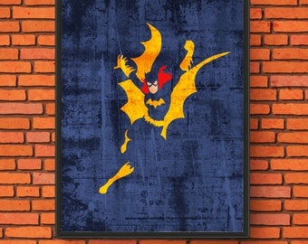 Minimalism Art - Batgirl Print