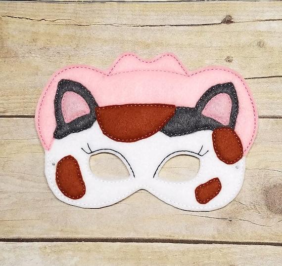 Felt Callie Mask Pretend Play Birthday Favor Imagination