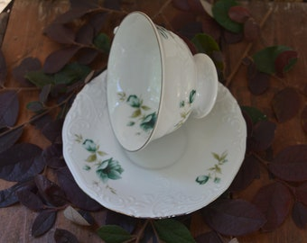 Vintage Walzbrych of Poland Cup and Saucer