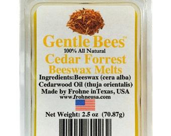 Gentle Bees Cedar Beeswax Melts