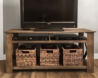 Tv Stand Designs For Corners : Tv stand etsy