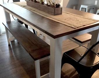Diy Farmhouse Coffee Table Plans Woodworking Plans Diy Etsy