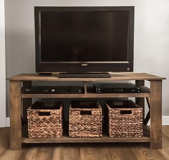 Diy Pallet Tv Stand Plans Woodworking Plans Diy Furniture Diy Plans Living Room Furniture Farmhouse Furniture Rustic