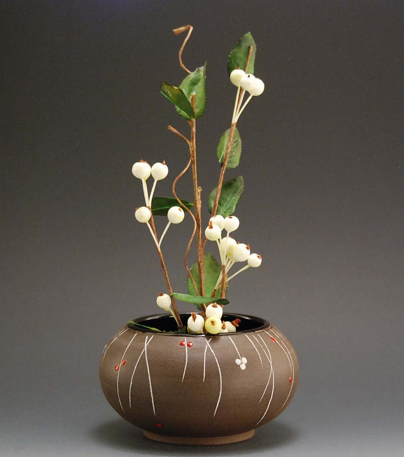 Flower Pot Vase Flower container Handmade container Pottery vase Flower Vase Handmade vase Ceramic Vase Garden Decor Container