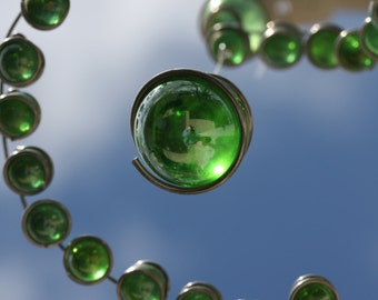 Instant Download Green Marble Spiral Letter Photography