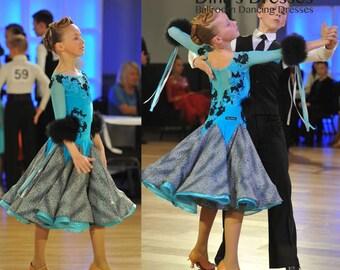 d6556cf60718 Spring Spirit Junior 1 Ballroom Dancing Set Leotard 2 | Etsy