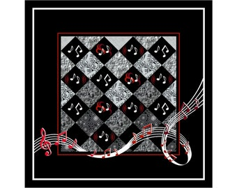 Rosie Co Melody Quilt Pattern