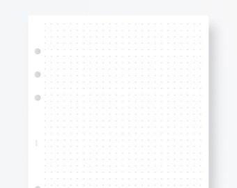 photo about Printable Dotted Paper identify Printable dot grid Etsy