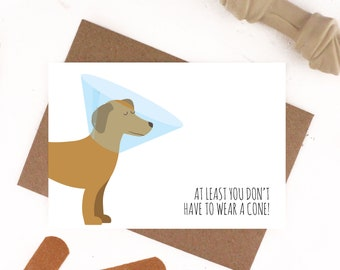 Get Well Soon Card Take It Easy Card Knee Operation Feel Etsy