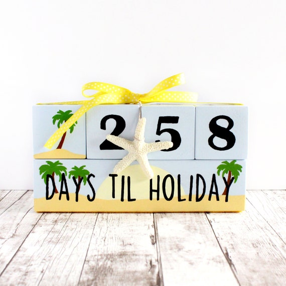 Holiday Countdown Summer Vacation Countdown Days Until