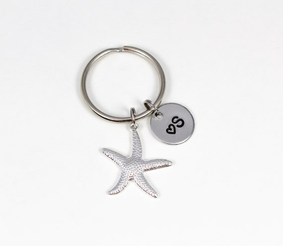 Starfishes Icons Custom Guitar Pick Pendant Necklace Keychain