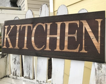 Ordinaire Kitchen Signs Decor Rustic Country Red, Rustic Home Decor Rustic Country  Distressed Gift, Rustic Kitchen Wall Decor Southern Decor Brown