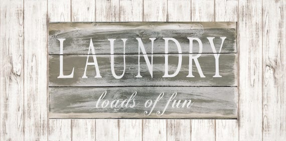 Laundry Room Sign Rustic Laundry Sign Farmhouse Sign Etsy