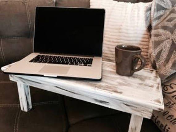 En bois pour ordinateur portable laptop stand bureau etsy