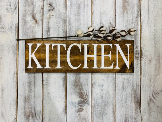 Kitchen Signs Rustic Home Decor Farmhouse Style Kitchen Wall Art Christmas Gift For Her Unique Gift For Mom