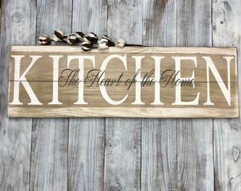 Farmhouse Sign Kitchen, Rustic Home Decor, Farmhouse Wall Decor, Farmhouse Decor,  Wood Wall Art, Rustic Wall Decor, Wood Farmhouse Sign