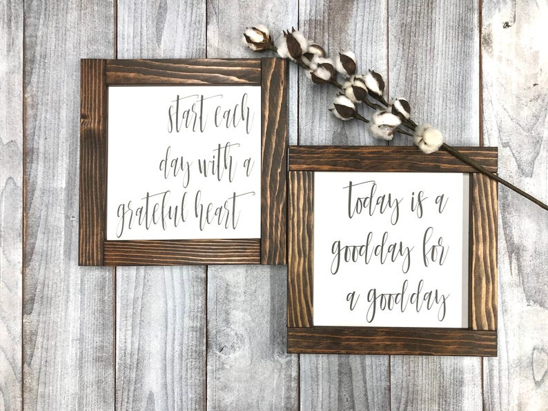 Rustic Home Decor Wood Signs Inspiration Signs Rustic Wall Etsy
