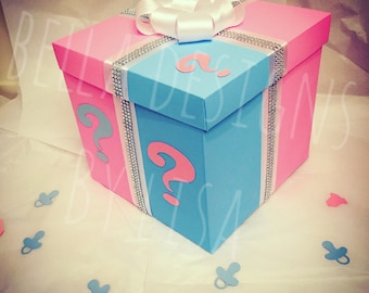 Gender Reveal Box Etsy