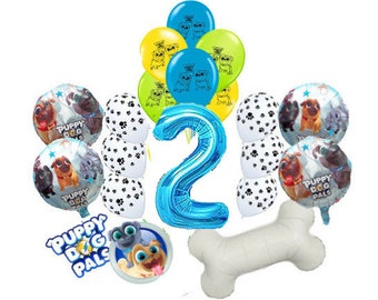 18PC Or 20PC PUPPY DOG PALS Balloons 1st 2nd 3rd Birthday 32 Favors Party Supply Dog Pals Decoration Theme Paw Patrol Boy