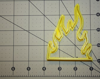Fire Cookie Cutter