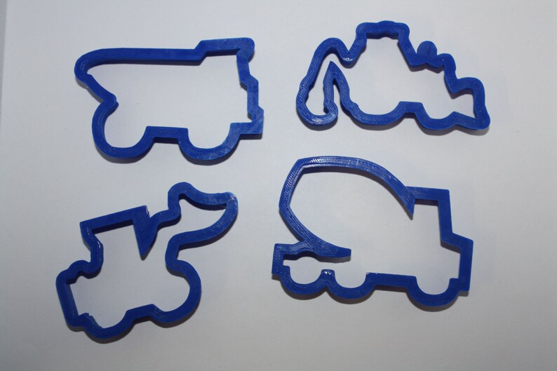 Construction Cookie Cutter Set image 0