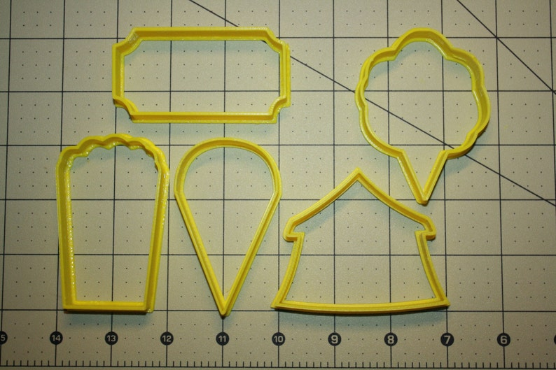 Circus Cookie Cutter Carnival Cookie Cutters image 0