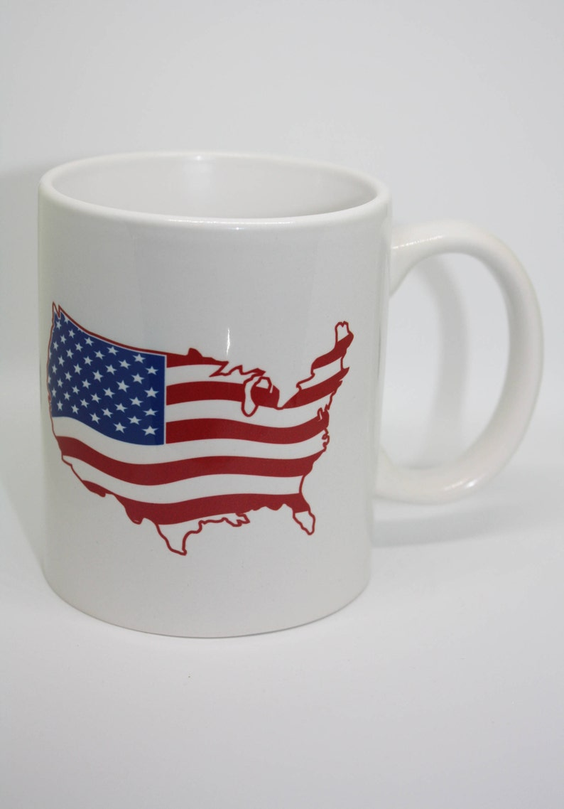 United States Coffee Mug Custom Coffee Mug Personalized Coffee image 0