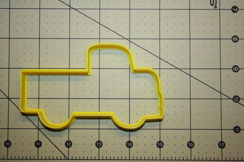 Pickup Truck Cookie Cutter 3d printed cupcake topper cutters image 0