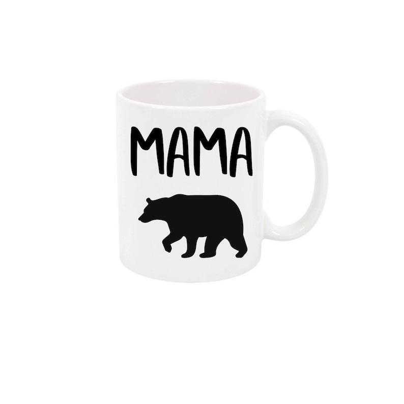 64ee8bd1c2 Mama Bear Coffee Mug Mom Coffee Cup Gift for Mom Personalized   Etsy