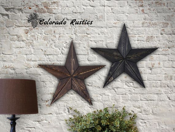 Rustic Star Home Decor For Rustic Country Home Decor