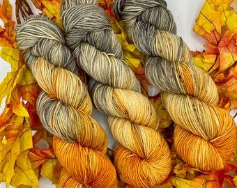 Pumpkin Harvest Hand Dyed Yarn