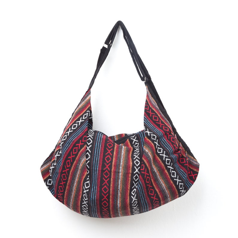 013f40b153 Cabas ethnique sac à bandoulière Hippie avec tissu Tribal | Etsy