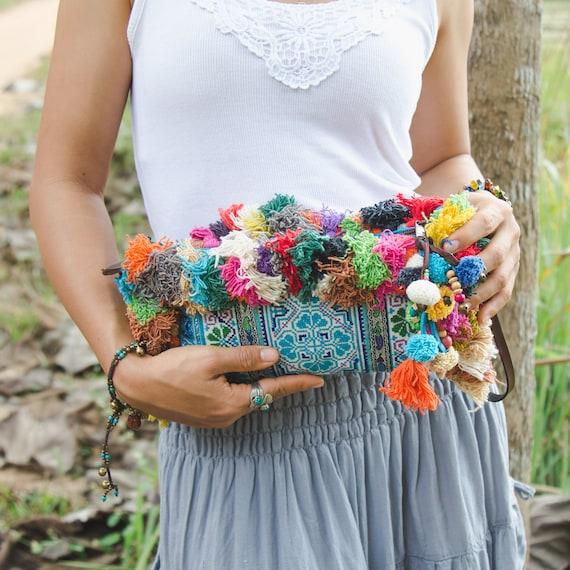 Verantwortlich Boho Frauen Bunte Auto Schlüsselanhänger Handtasche Decor Quaste Schlüssel Kette Handtasche Zubehör Mutter & Kinder