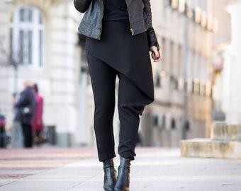 Pants for women/ Wrap pants/ Pants Skirt/ Drop Crotch Pants/ Harem pants/ Extravagant pants/ Black pants/ Skirt/ Pants women/ Trousers women