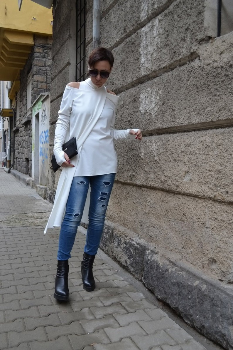 9e555bb953fe3d Vrouwen tuniek jurk partij boven lange mouwen tuniek voor | Etsy