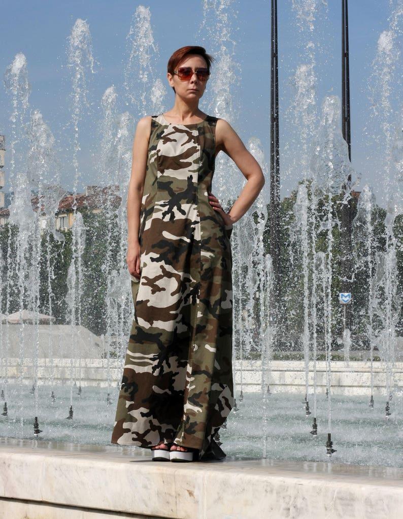 Long Dress Sleeveless dress Maxi dress Summer dress Dresses Casual Dress Maxi Dresses Boho dress Butterfly dress Pockets Belt