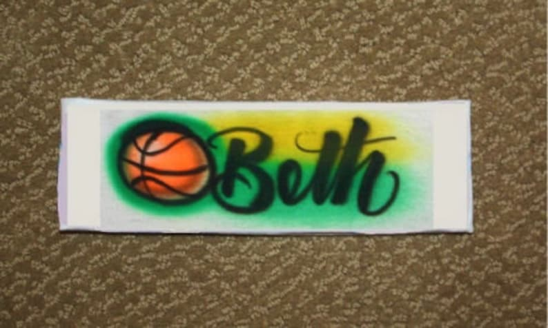 Personalized Girls Basketball Sweatband Basketball sweatband  7fa640e1212