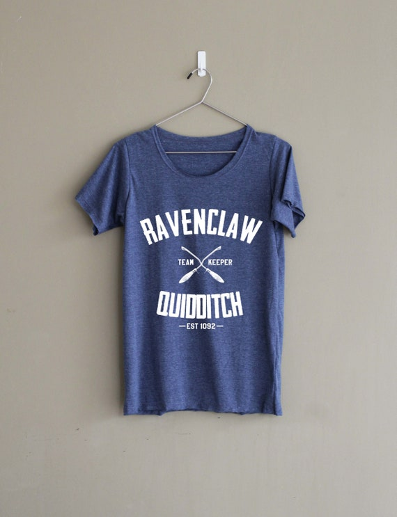 e93c1505aad Ravenclaw Quidditch Shirt Harry Potter Ravenclaw Shirt Woman | Etsy