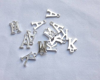 Initial charm, Add an initial, personalise an order, add a letter, letter charm, personalize a gift, added personalisation to an order