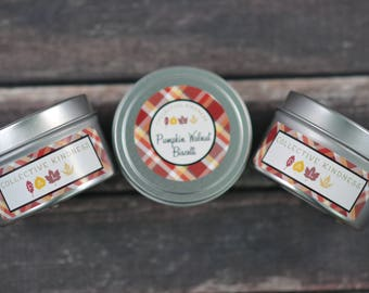 3 Pack Mix Fall Soy Candles - 6oz Travel Tins