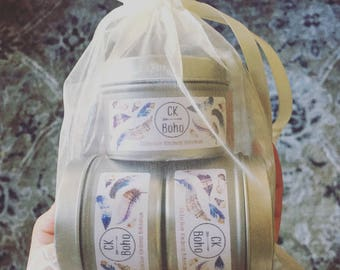 2oz Travel Tin Sampler 3 Pack Soy Candles