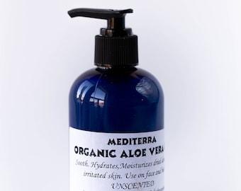 Organic Aloe Vera Gel (8 ounce)