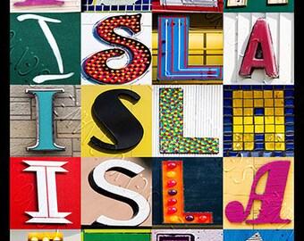 Isla name meaning print Isla sign Isla playroom print Isla Nursery Print Isla name meaning