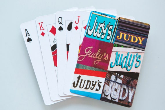 Printing Personalization Poker Playing Cards Personalized W Photos Text Great For Personal Or Business Scanbike One